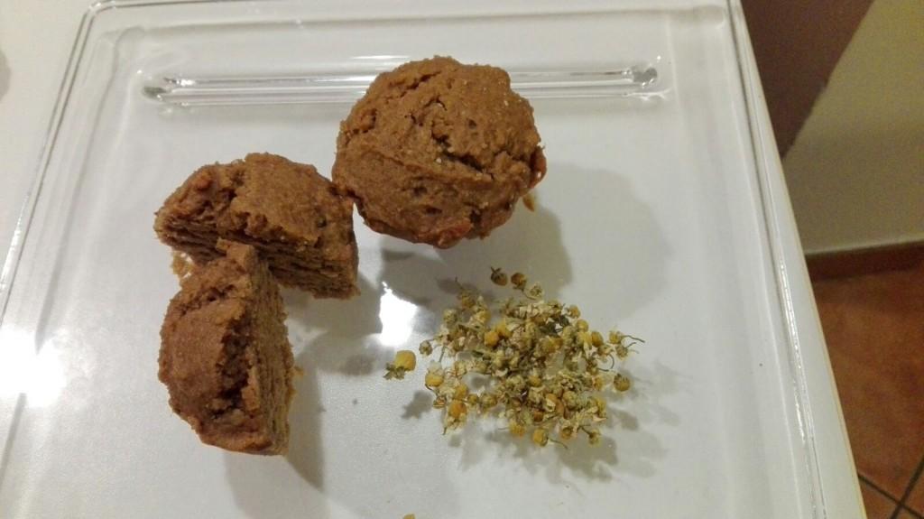 muffin camomilla
